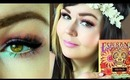 TUTORIAL : Spring Pastel Makeup Look Using Kat Von D Esperanza Palette