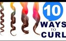 ★ 10 EASY Lazy WAYS to CURL Your HAIR 💋 GIRLS HAIRSTYLES & Curls