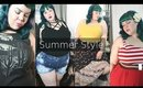 Plus Size Retro, Goth and Activewear Try On Haul with Torrid