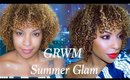 GRWM | Summer Glam Full Face Affordable Makeup | BeautybyLee
