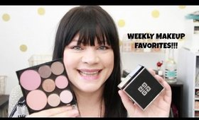 WEEKLY FAVORITES!!  FEAT: MAKEUP GEEK, TOM FORD AND MORE!