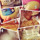 easy DIY lip scrub!!😘