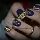 Foil nail art