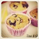 Tone It Up Blueberry Zest Muffins