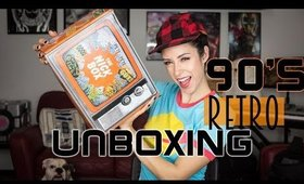 90's Nickelodeon Nostalgia! Unbox the Live Action Nick Box With Me!