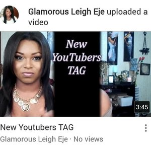 IG: @glamorousleigheje  youtube @glamorousleigheje
