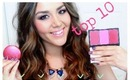 Top 10 Cheek Products: Blush, Bronzer & Highlighters