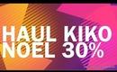 Haul Kiko (30 % NOEL2013) / Miss Coquelicot