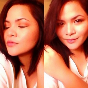 simple make up for simple occassions..:-)