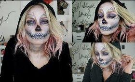 Glam Skeleton Makeup Tutorial