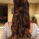 Curls with a bow
