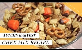 Easy Harvest Chex Mix Recipe | Halloween Treats for Kids