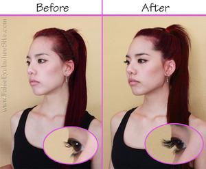 Easy, safe, affordable, commitment-free eyelash extensions at home!   http://falseeyelashessite.com/blog/2012/05/17/diy-eyelash-extensions/