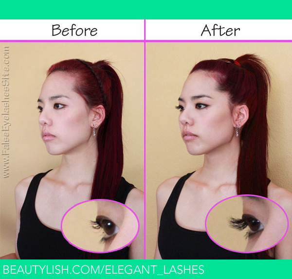 Diy Eyelash Extensions Before And After Bonnie L S