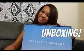 Rockets of Awesome Summer 2017 Unboxing | 4 Yr Old Girl