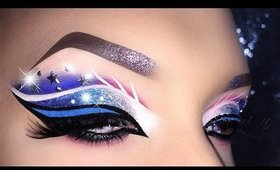 4th of July - USA Flag inspired Makeup Tutorial