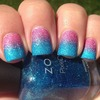 Zoya Pixie Dust Gradient