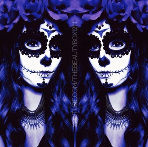 Sugar skull Halloween makeup tutorial is uploading to my channel now! Subscribe for tutorials :)