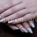 Glowing nails BLING BLING