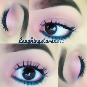 I used the Too Faced Summer Eyes Palette and it worked amazing! It's rich, creamy pigmented eyeshadows add an amazing look to my eyes! This look is perfect for these hot-summer days! 💋