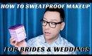 Bridal Makeup Pro Artist Tips Part 2  Best SweatProof Beauty Products - mathias4makeup