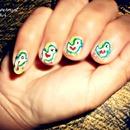 Duck nail art