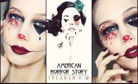 American Horror Story Halloween Makeup Tutorial