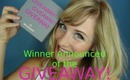*****WINNER OF THE SUMMER GIVEAWAY*****