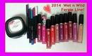 Wet n Wild Fergie Vicious Varnish High Shine Lip Stain, Mattifying Powder & Longwearing Eye Pencil