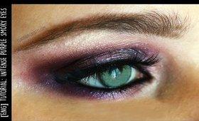 [ENG] Intense Purple smokey eye look