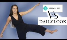 DAILY LOOK VS STITCH FIX | Unboxing + TRY ON | Review [Fall 2019]