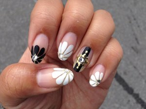 Inspired by Japanese nail art