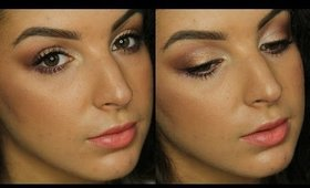 GRWM | Easy, Affordable, Glowing Bronze Makeup ♥