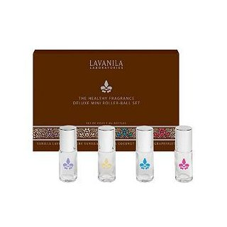 LAVANILA The Healthy Fragrance Deluxe Mini Roller-Ball Set