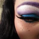 Purple And Blue Smokey Eye