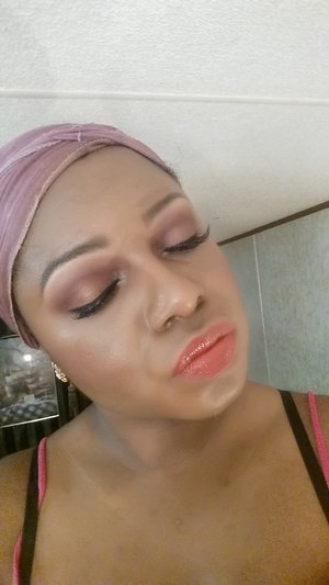 """Tutorial on this look on YouTube.   (Link in bio) """"Thanksgiving Makeup Looks"""""""