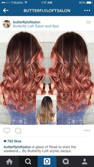 Rose Gold Hair Formula Beautylish