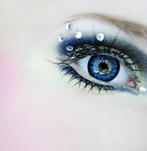 EOS Candy Doll Blue lenses