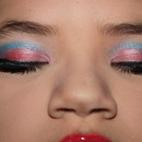 pink and blue eye... for Chinese girl