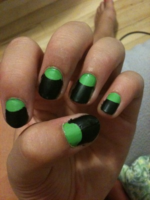 Good use of school supplies. Reinforcements.!! I used SEPHORA by O.P.i matte top coat. Loooove it!