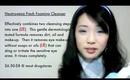 Face Cleanser Comparison (Boscia VS Neutrogena)