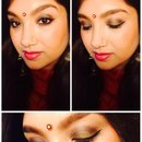 Indian / Bollywood makeup look