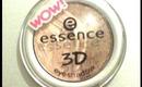 essence 3D eyeshadow Anwendungsbeispiel