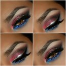 4th of July makeup inspiration