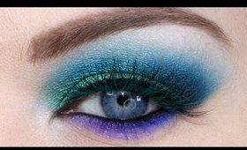 Killer Mermaid Eyes- Urban Decay Electric Palette Tutorial