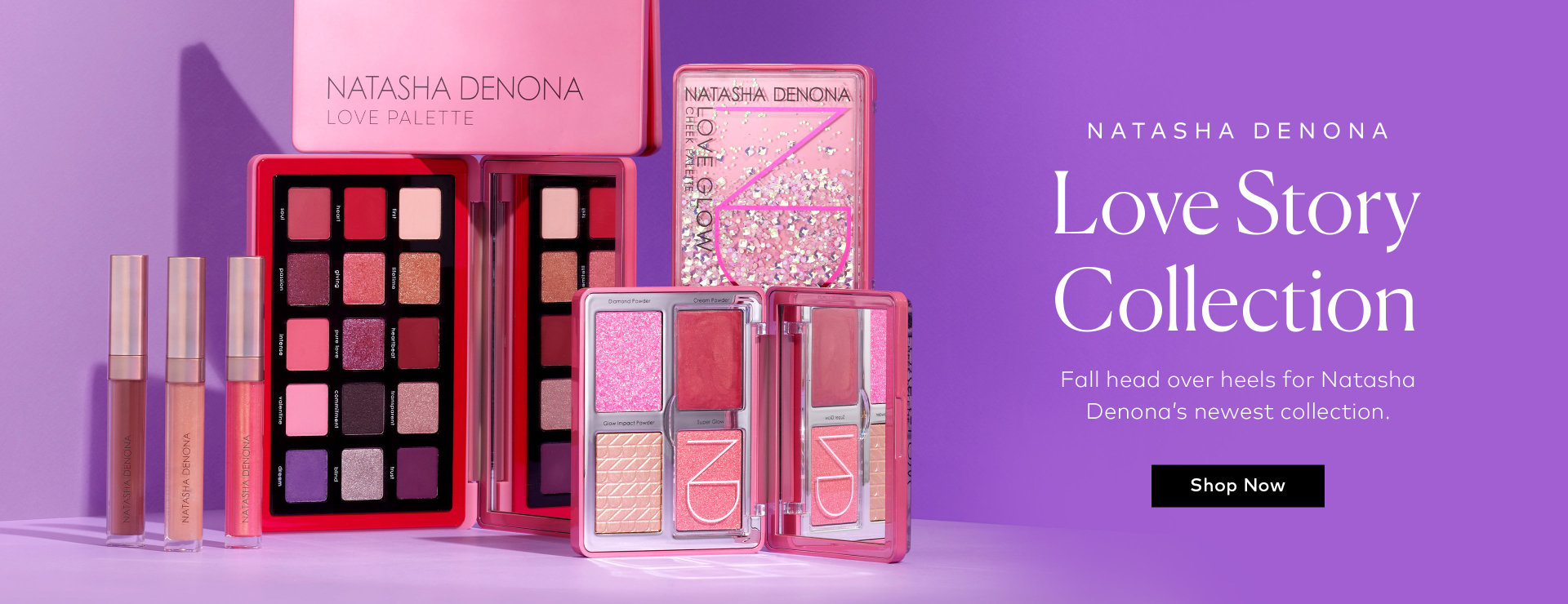 Shop Natasha Denona's Love Story Collection on Beautylish.com