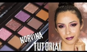 Makeup Tutorial using NEW ABH Norvina Eyeshadow Palette