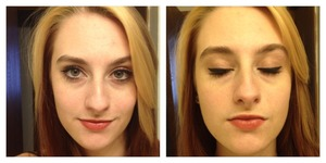 Did a makeup look for Valentines day (bombshell day according to Victoria's Secret)