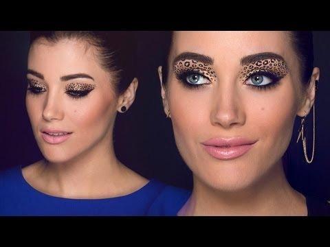 Sexy leopard/cheetah makeup tutorial   halloween makeup tutorial.