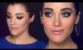 Leopard Eyes 2 Makeup Tutorial!